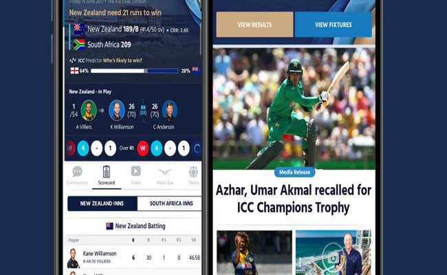 ICC LAUNCHES NEW MOBILE APP AHEAD OF CHAMPIONS TROPHY
